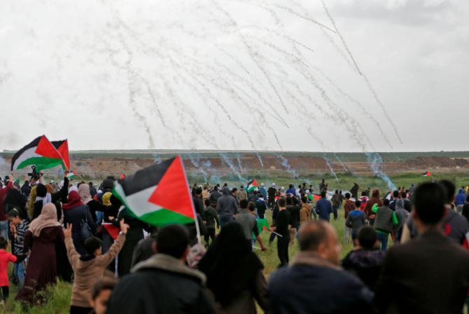 scontri gaza ambasciata usa