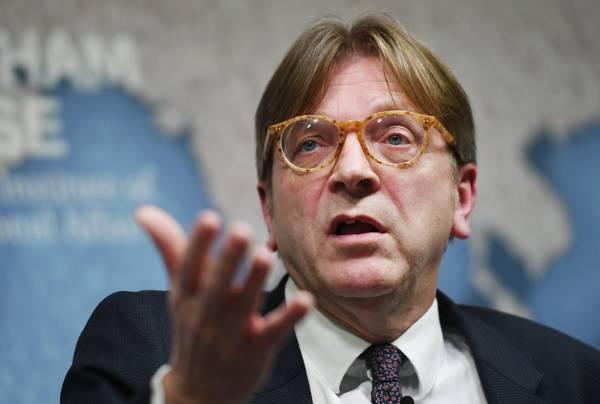 Verhofstadt attacca conte