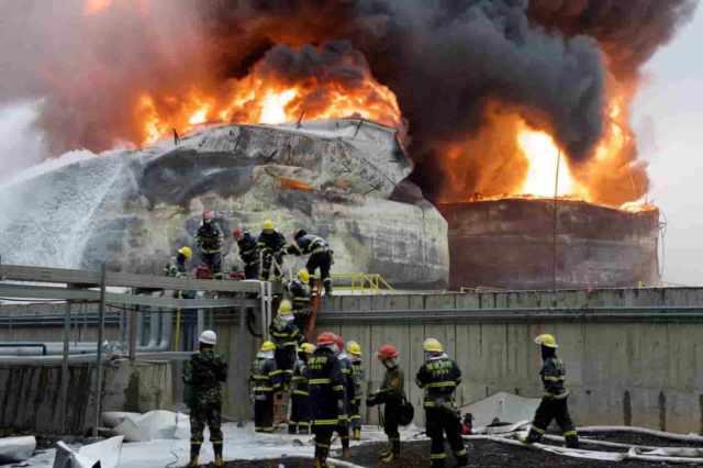 Cina, violenta esplosione in un impianto chimico
