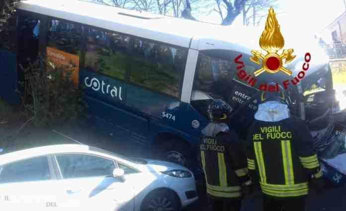 cotral bus grottaferrata