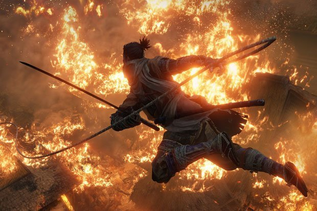 sekiro shadows die twice trailer ufficiale