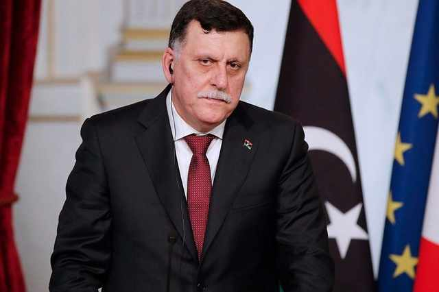 al sarraj haftar libia