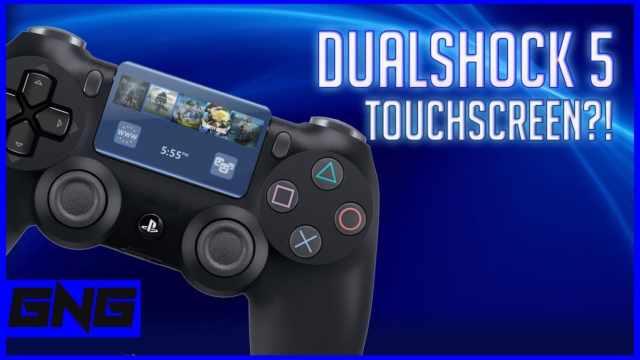ps5 dualshock 5 display