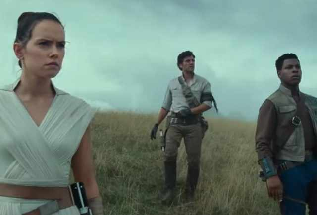 star wars trailer rise skywalker
