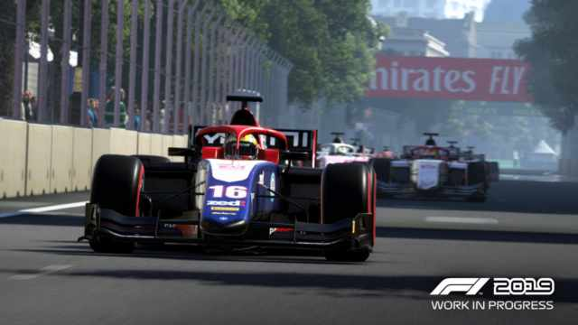 F1 2019 si mostra nel primo gameplay