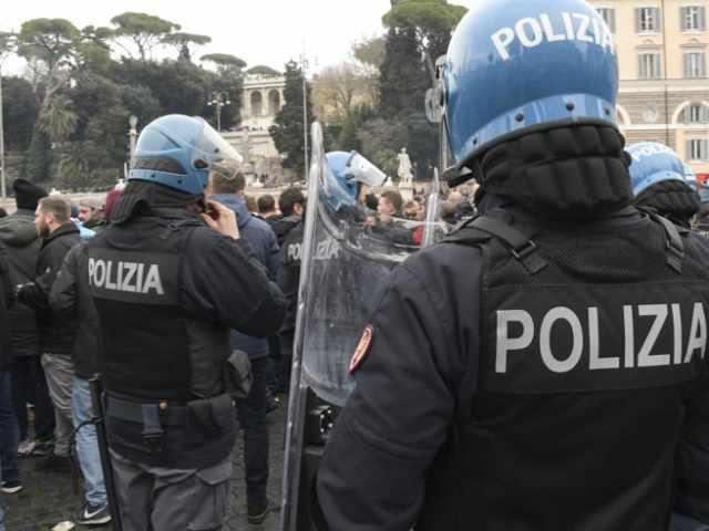 scontri atalanta lazio polizia