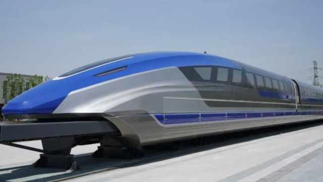 cina treno levitazione magnetica 600 chilometri orari