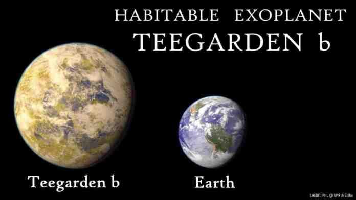teegarden b pianeta abitabile
