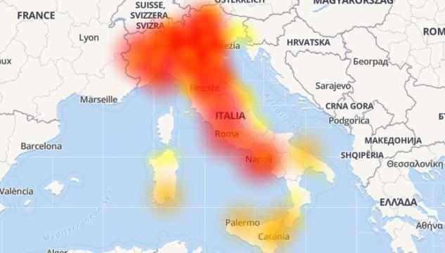 vodafonedown italia internet telefonate