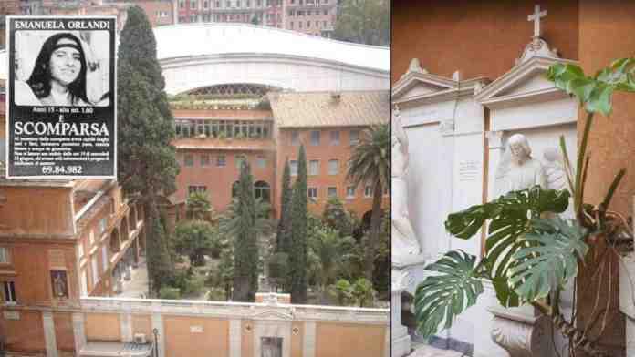 emanuela orlandi tombe vuote vaticano