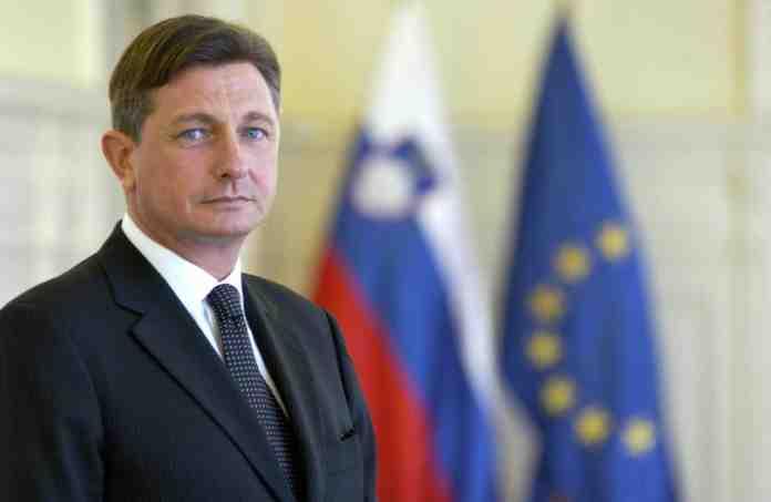 slovenia muro confine presidente borut