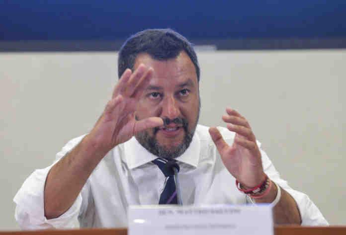 Matteo salvini sabaudia governo