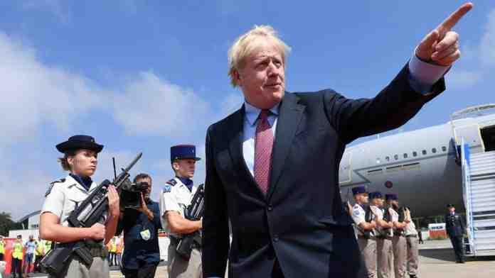 brexit boris johnson g7 tusk