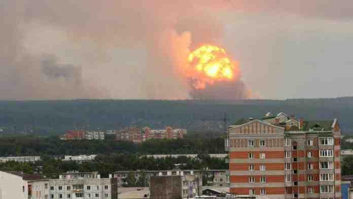 esplosione nucleare russia chernobyl