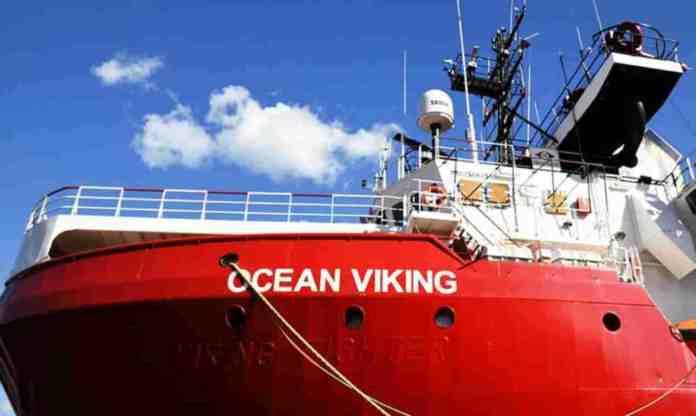 ocean viking sbarco malta