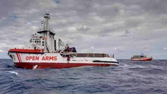 open arms acque italiane