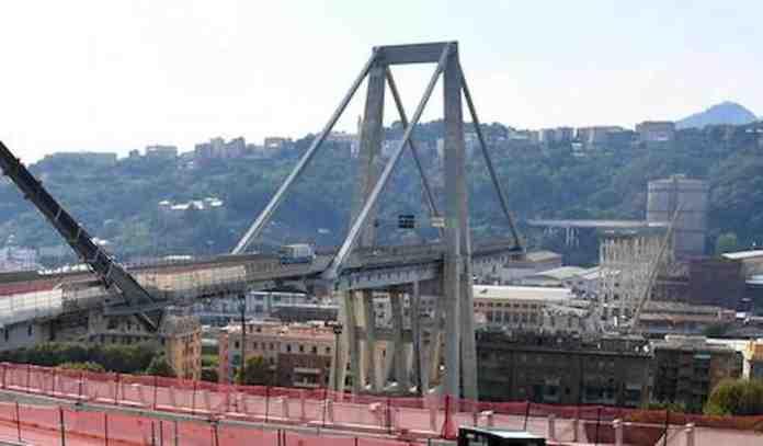 ponte genova commemorazioni mattarella