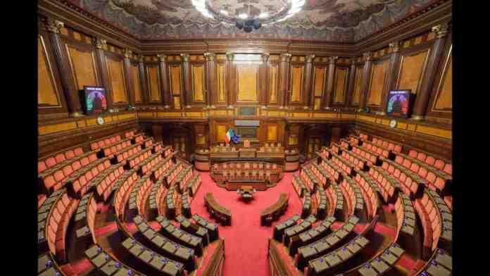 voto in senato live streaming