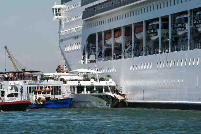 grandi navi venezia san marco