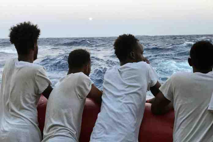 migranti italia francia germania sbarchi