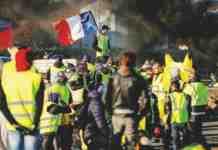 parigi gilet gialli proteste clima