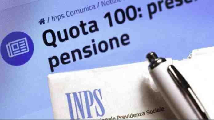 pensioni quota 100 calo domande miliardi