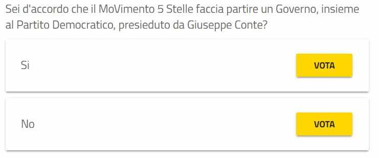quesito rousseau governo m5s pd