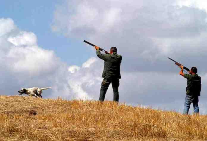 salerno uccide padre fucile battuta caccia
