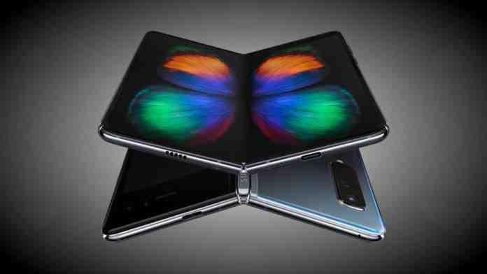 samsung lancio galaxy fold smartphone pieghevole