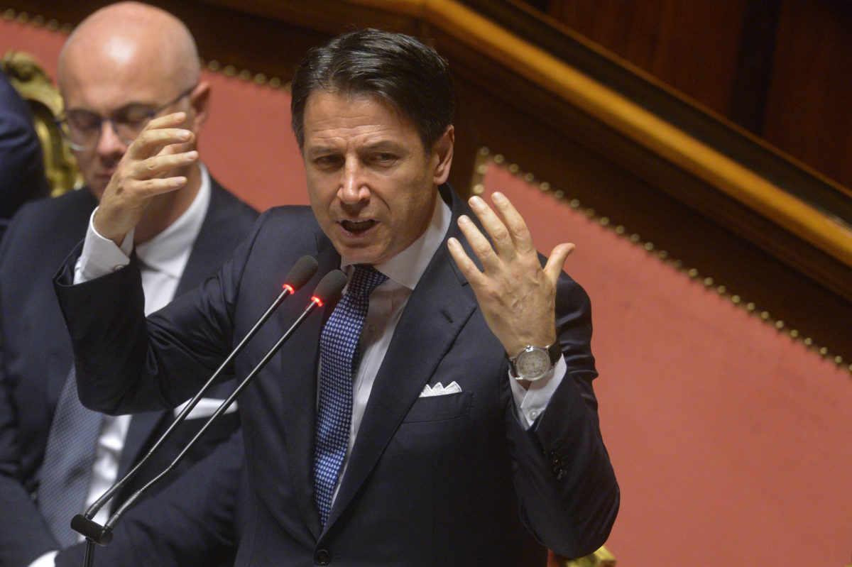 L'onorevole Ruggiero (M5S) chiede fiducia per il Conte bis