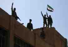 siria forze curde ritirata