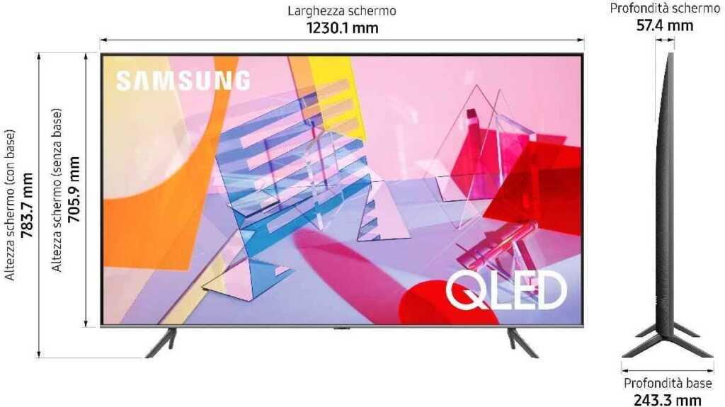 Samsung QE55Q64TAUXZT Serie Q64T