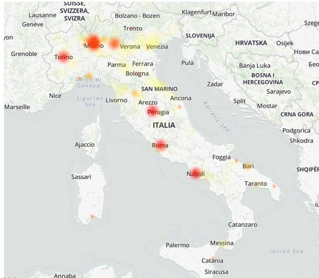 Tim, guasto alla rete: internet down in tutta Italia