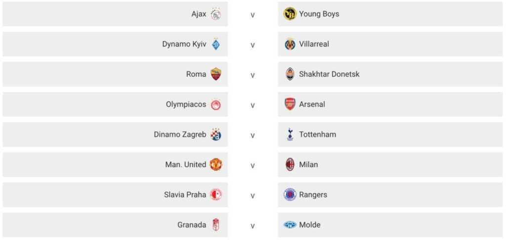 sorteggio europa league ottavi