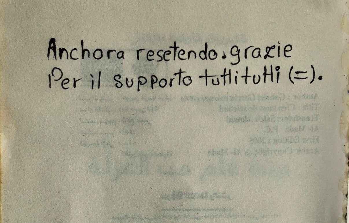 messaggio patrick zaki italiano