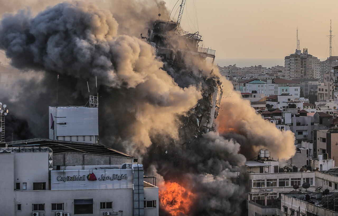 gaza israele razzi notte