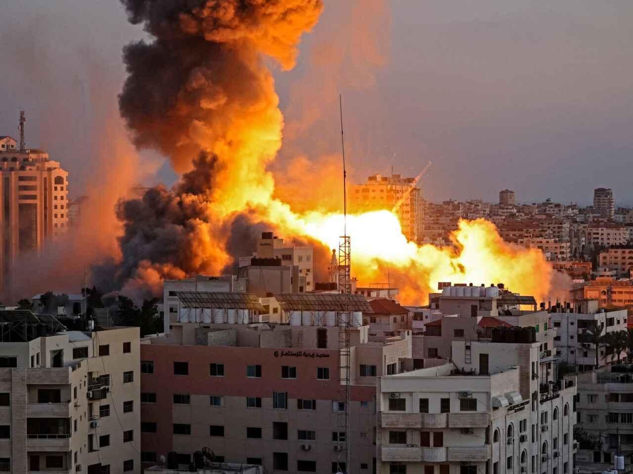 israele gaza conflitto lancio razzi