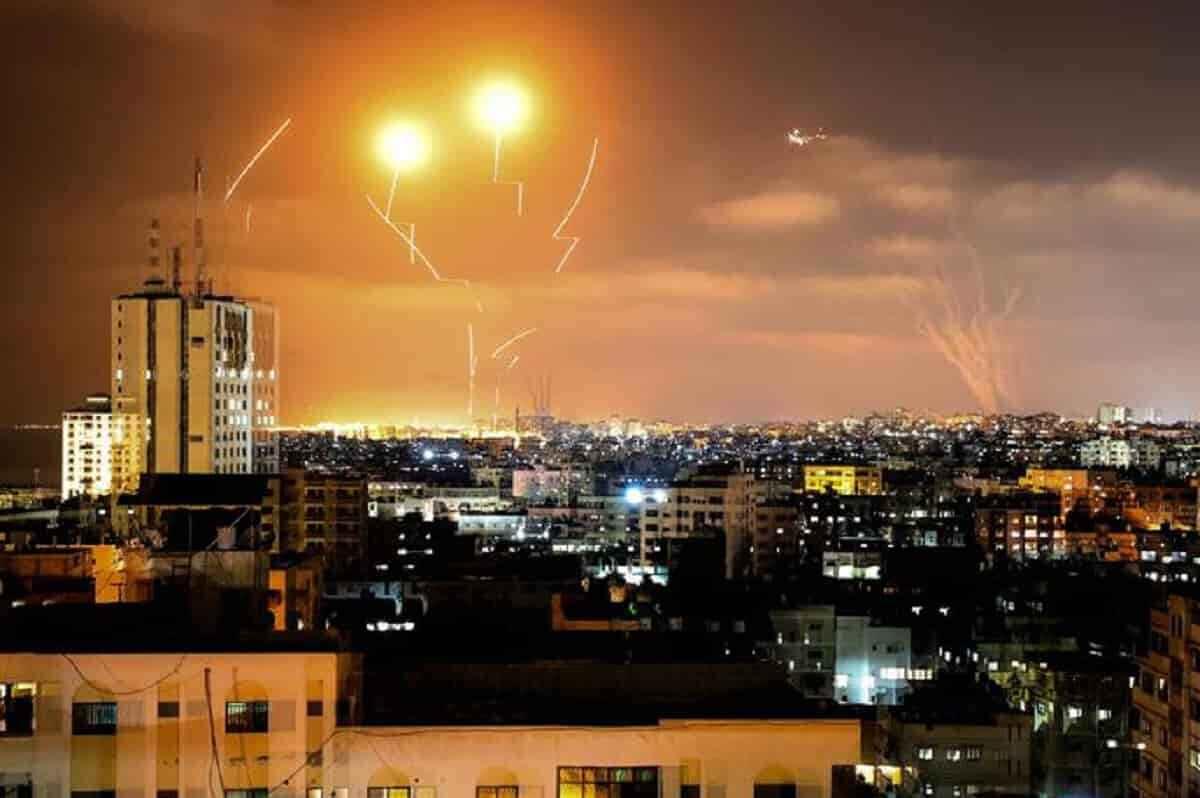 israele lanci missili gaza