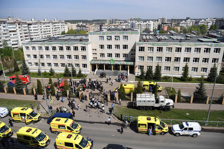 kazan russia sparatoria scuola